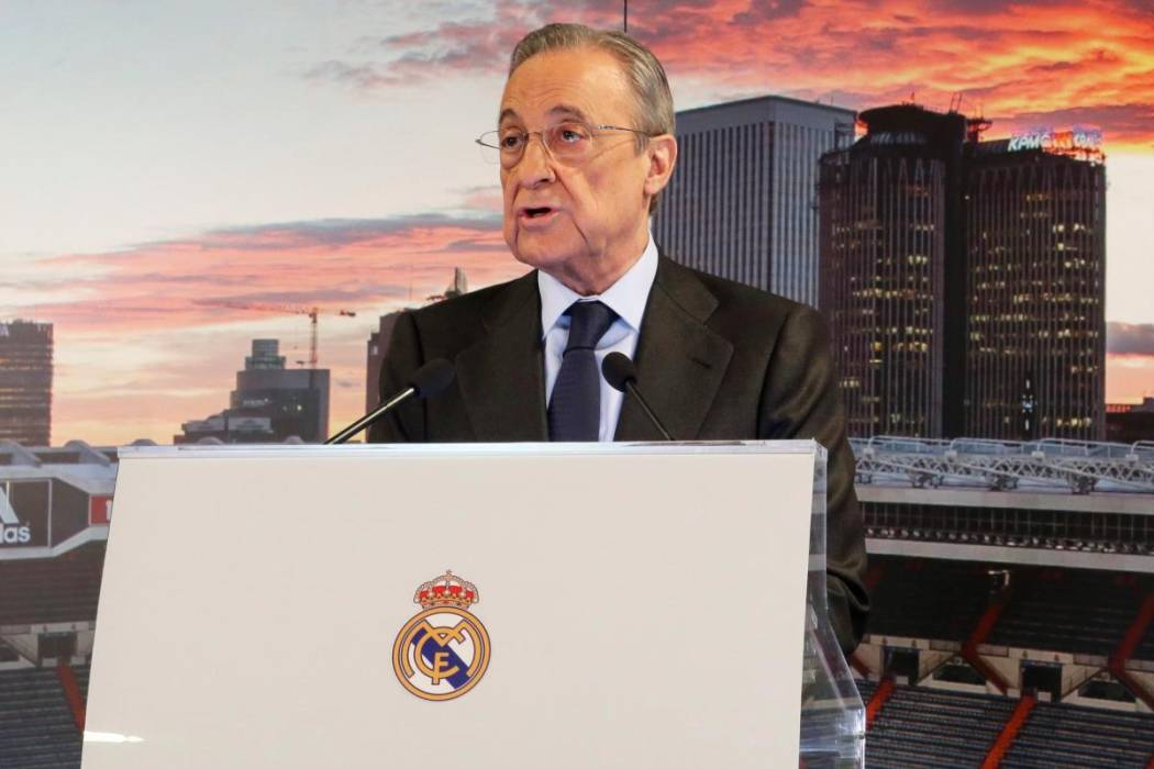 Florentino Pérez ratificado como presidente del Real Madrid. //EFE