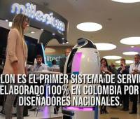 [Video] La primera 'Robotina' hecha en Colombia