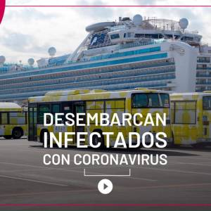 [Video] La cuarentena del Diamond Princess termina con 542 contagios