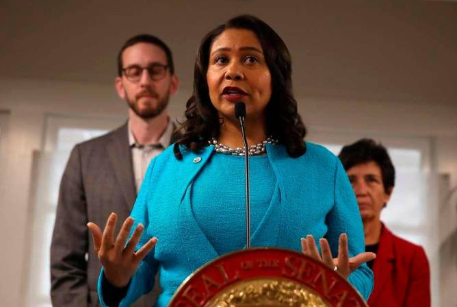 London Breed, alcaldesa de San Francisco, California