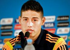 James Rodríguez, el creativo en el medio campo de Colombia.