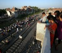 Accidente de tren en India
