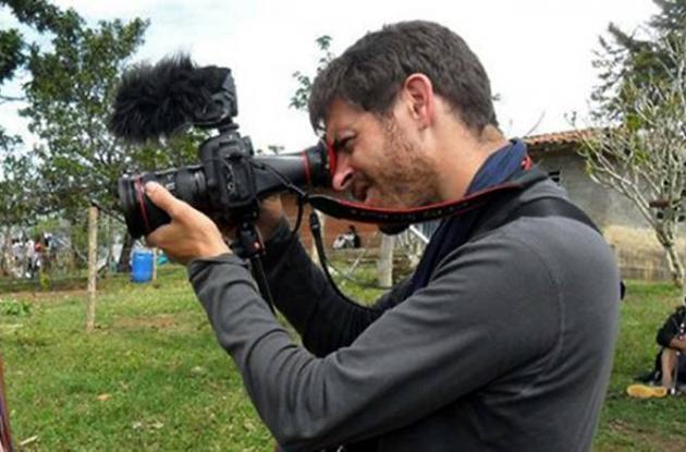 Romeo Langlois, periodista secuestrado por la Farc.