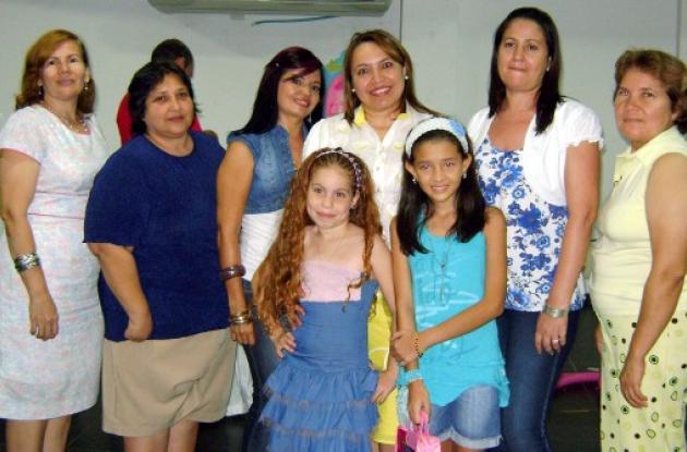 Cumpleaños de Carmen Rey